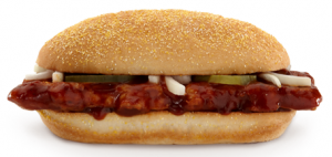 McRib Sandwich has Made It's Occasional Comeback!