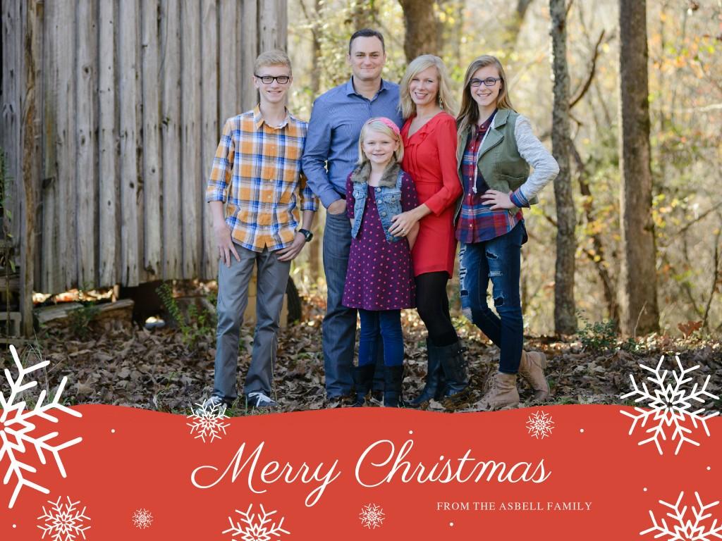 Asbell Family Christmas 2015