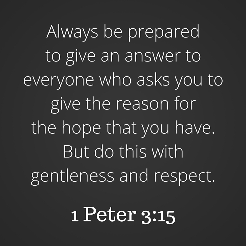 1 Peter 3-15